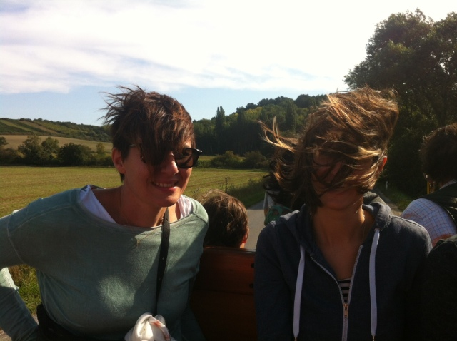 a big plus: you don´t have to do your hair cause it will get destroyed by the wind anyways.