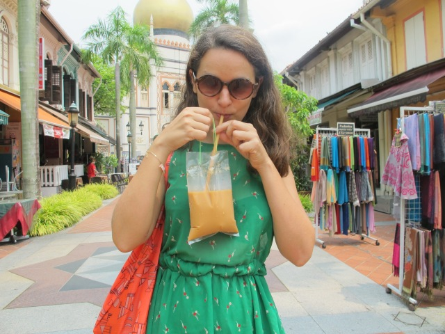But  remember: always stay hydrated. One of my absolute favourites: Pulled Tea in a bag at Kandahar street.