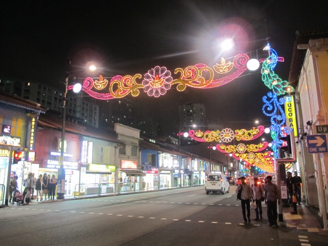 The lights of little india