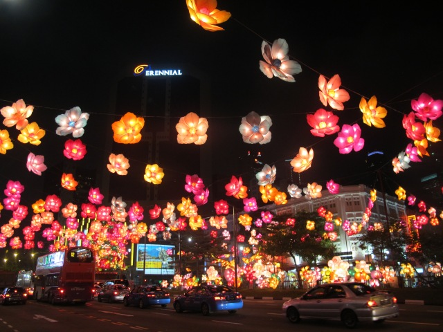 The lights of chinatown
